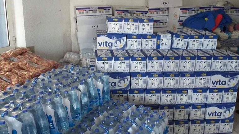 Klubi i Prodhuesve të Kosovës sjell pako ndihmash për 600 familje në Viti