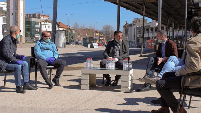 Haziri viziton Stacionin e Autobusëve: Do të bëhet më moderni në rajon