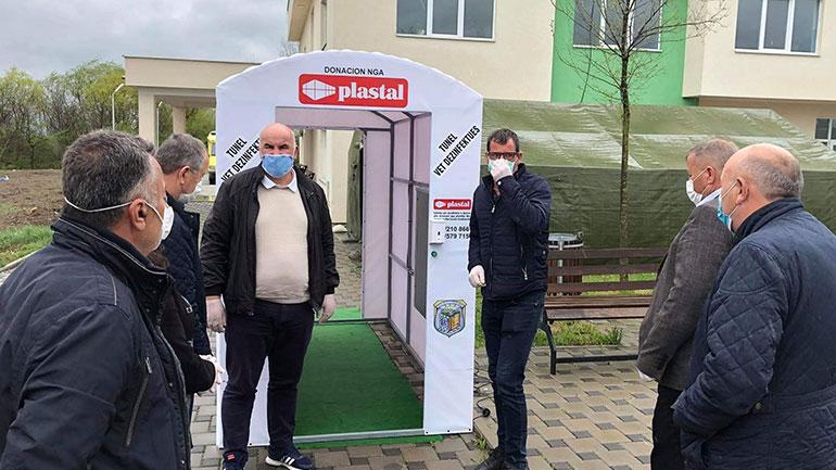 Edhe Qendra e Mjekësisë Familjare në Pozheran u bë me tunel dezinfektues