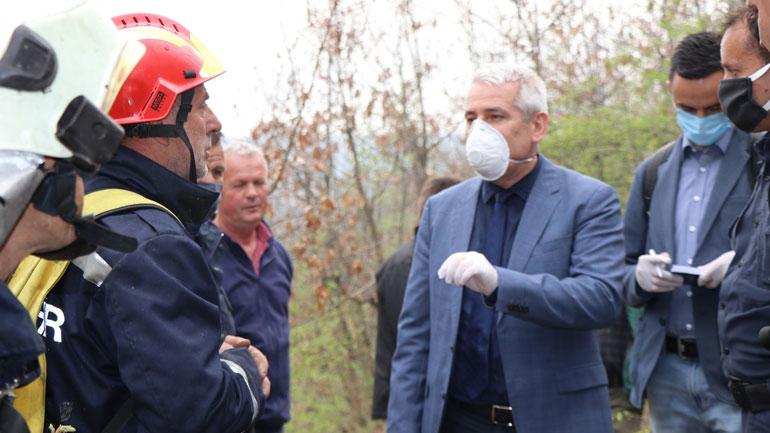 U.D Ministri Sveçla vizitoi Njësinë Profesionale të Zjarrfikësve dhe Shpëtimit në Viti