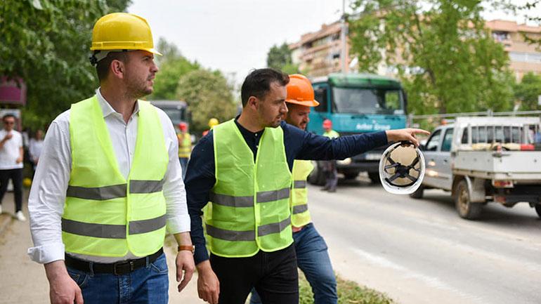 Fillojnë punimet për ndërtimin e Bulevardit të qytetit të Kamenicës