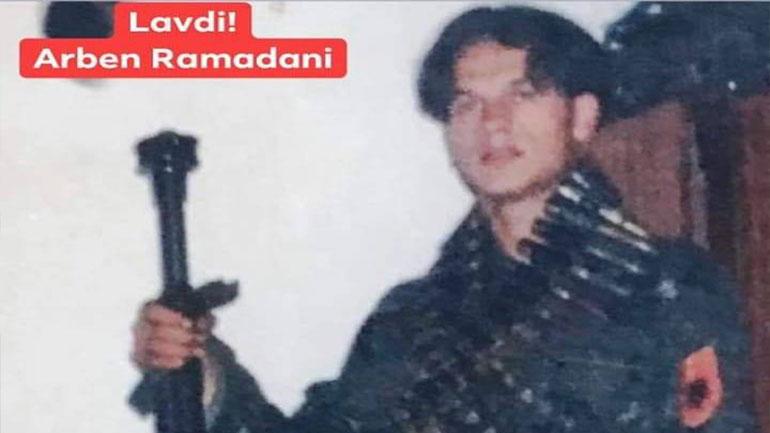 U përkujtua në 20 vjetorin e rënies, dëshmori Arben Ramadani