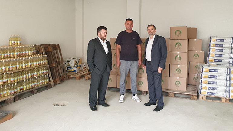 """Vazhdoi aksioni i SHHB """"Bereqeti"""" ndihmoi 140 familje të fshatrave të Gjilanit"""