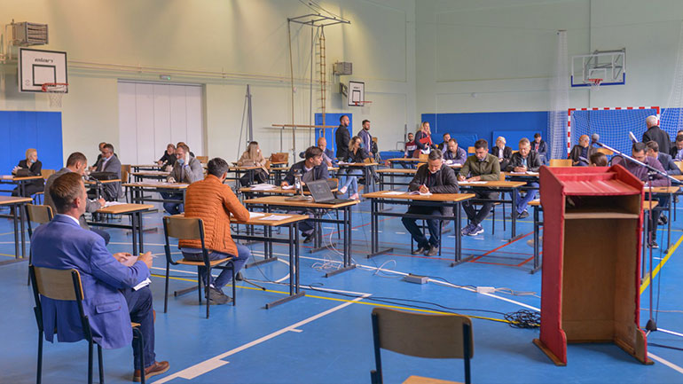 Mbahet mbledhja e tretë e rregullt e Kuvendit Komunal