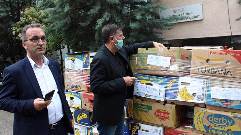 Gjilani shpërndan edhe 250 pako ushqimore, donacion i xhamisë së Regensdorfit të Zvicrës dhe vëllezërve Zymberi