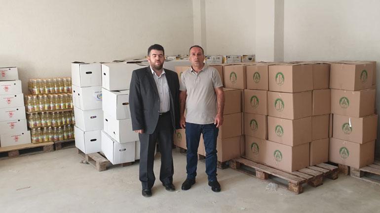 """""""Bereqeti"""" ndihmoi 30 familje të Organizatave të dala nga lufta dhe 80 familje të tjera të Gjilanit"""