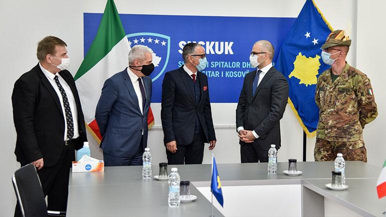 Prezantohet ndihma e shtetit italia për shëndetësi për ballafaqim me Covid-19!