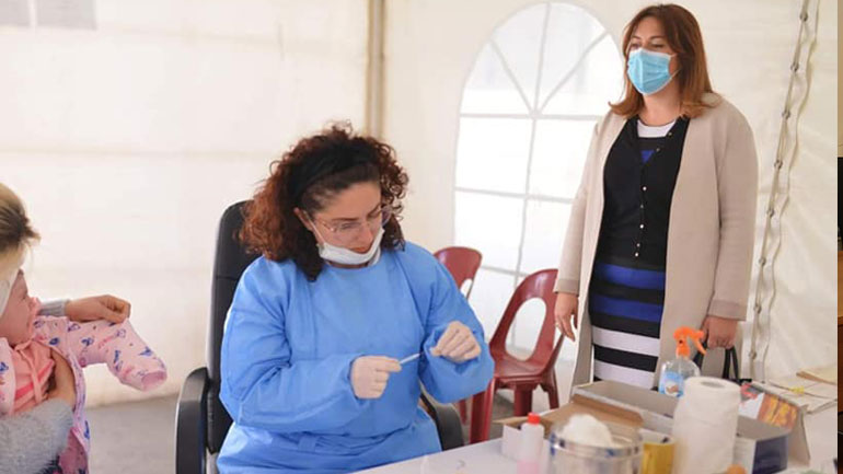 Fillon vaksinimi i fëmijëve në Kamenicë