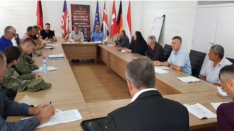 KKSB: Gjendja e sigurisë në komunën e Vitisë e qetë dhe stabile