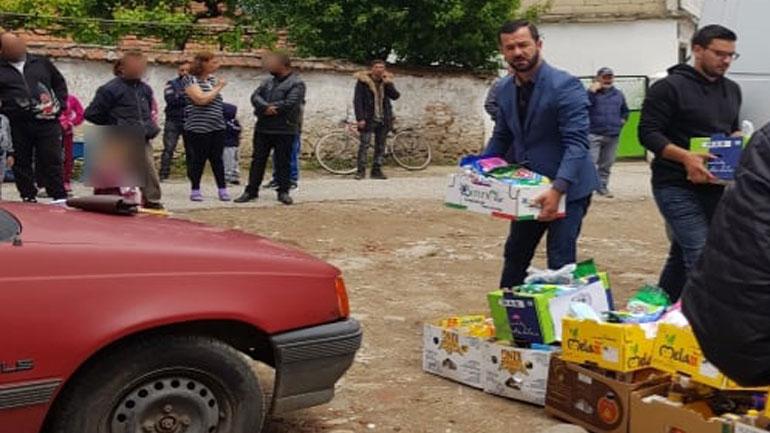Ndihmohen 140 familje me pako ushqimore dhe higjienike