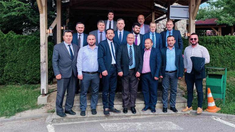Myftiu i Kosovës Naim ef Tërnava vizitoi Këshillin e Bashkësisë Islame në Gjilan