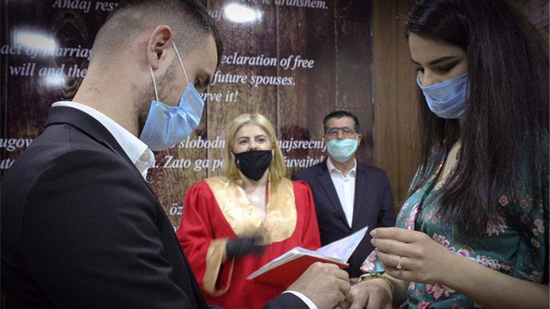 Në Gjilan hapet zyra e re e kurorëzimeve