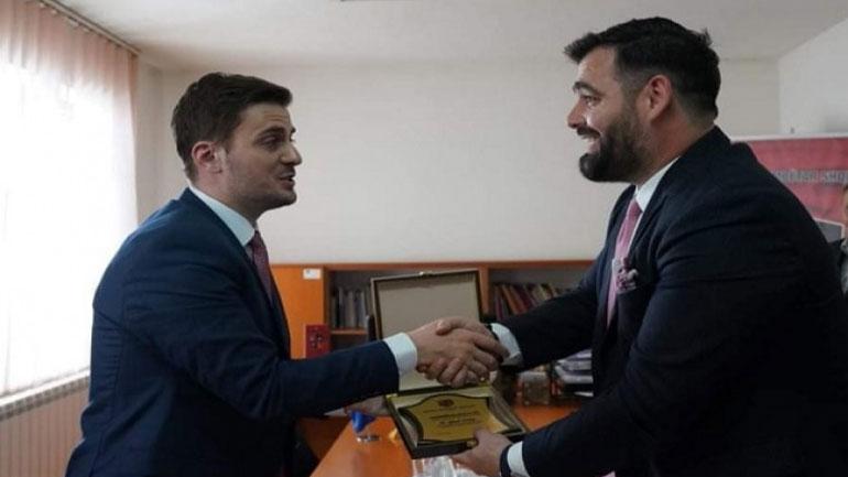 KKSH nderon me mirënjohje ministrin Gent Cakaj