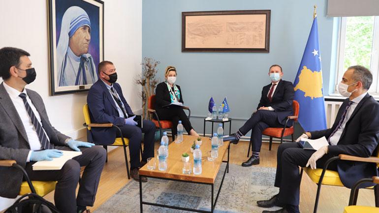 Ministri Zemaj dhe Ambasadorja Apostolova biseduan për projektet e BE-së në shëndetësi