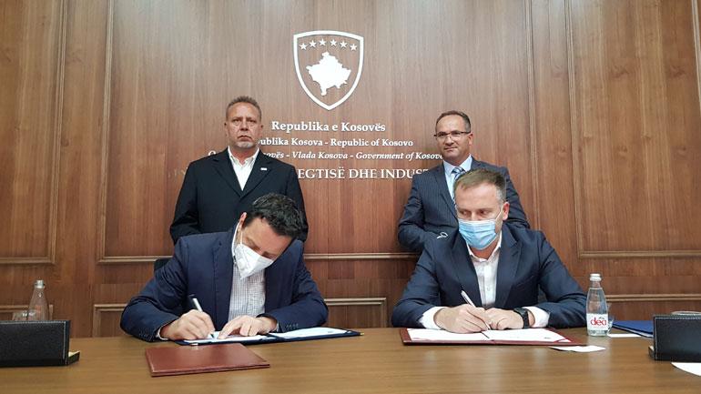 Ministria e Tregtisë dhe Industrisë nënshkroi marrëveshje me ADA-në, për t'i ndihmuar bizneset kosovare