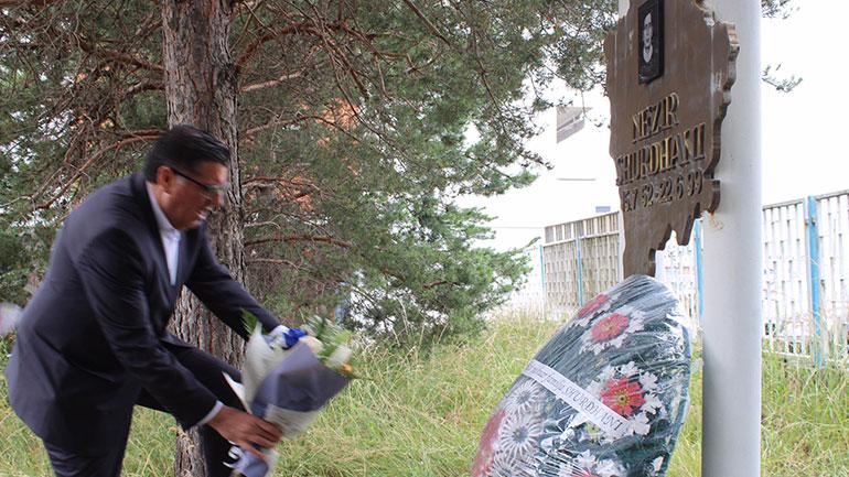 Lutfi Haziri: 21 vjet më parë ra dëshmori, bashkëveprimtari, bashkëluftëtari dhe patrioti, Nezir Shurdhani
