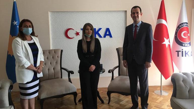 Drejtoresha e Shëndësisë dhe Mirëqenies Sociale takon përfaqësuesin e Agjencisë turke TIKA