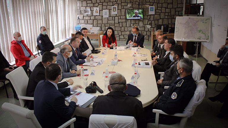 Zemaj: Shtabi i Gjilani ka bërë një punë shembullore në menaxhimin e pandemisë