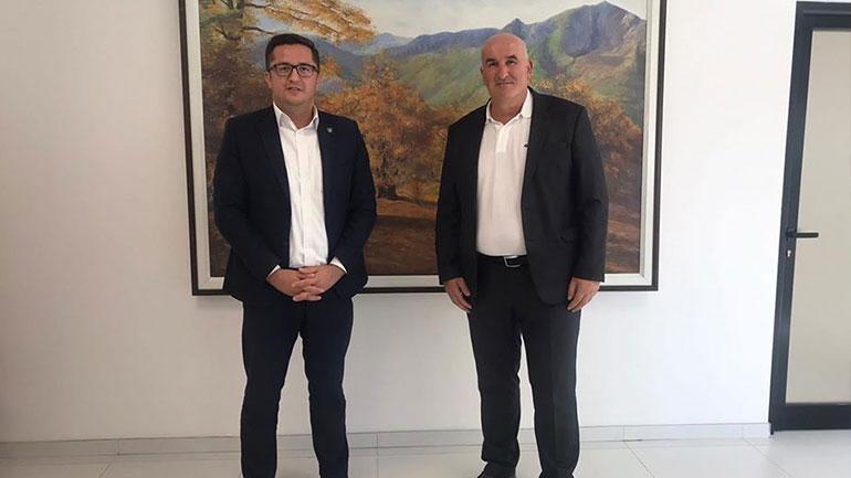 Kryetari Sokol Haliti u prit në takim nga ministri i Bujqësisë Besian Mustafa