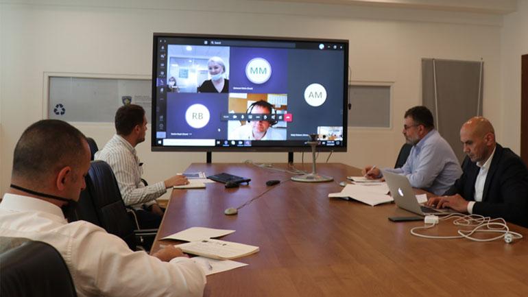 Punëtori virtuale me GIZ në lidhje me Menaxhimin e Mbeturinave dhe dokumentet që rrjedhin nga ky proces