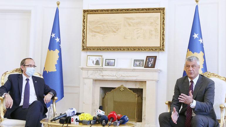 Presidenti Thaçi dhe kryeministri Hoti takim koordinues për dialogun dhe luftën kundër pandemisë