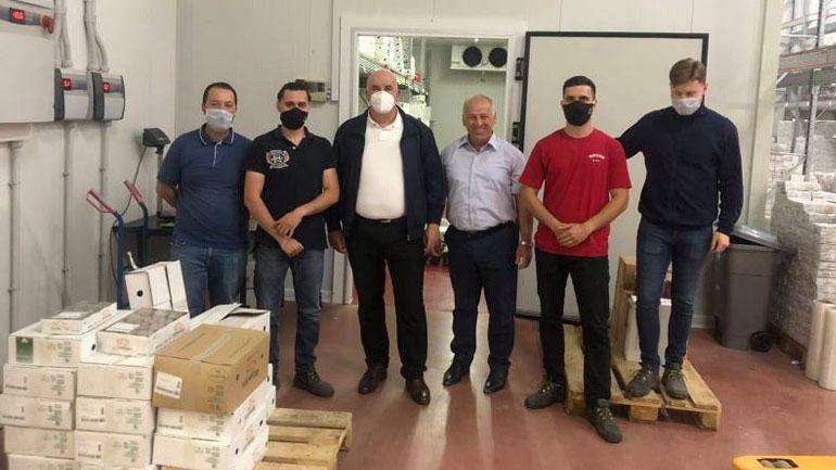 """Kryetari i Vitisë vizitoi kompaninë """"Mediteran Group"""""""