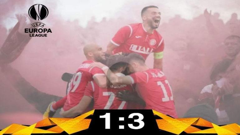 Gjilani debuton me fitore në garat evropiane, mundi skuadrën Tre Penne,  3 me 1