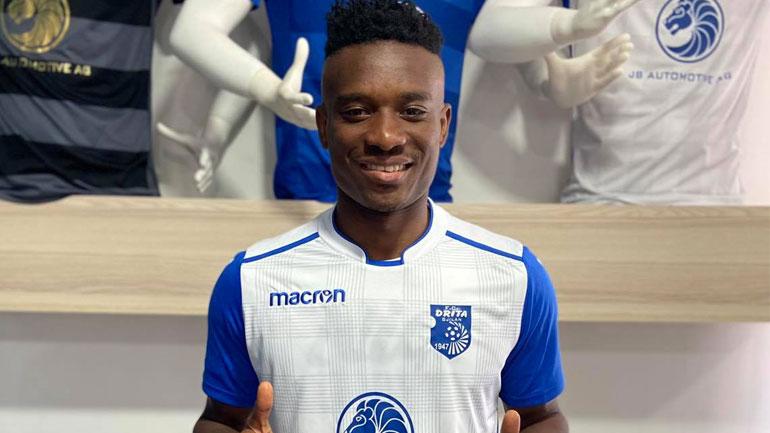 Drita prezanton transferin e ri nga Gana