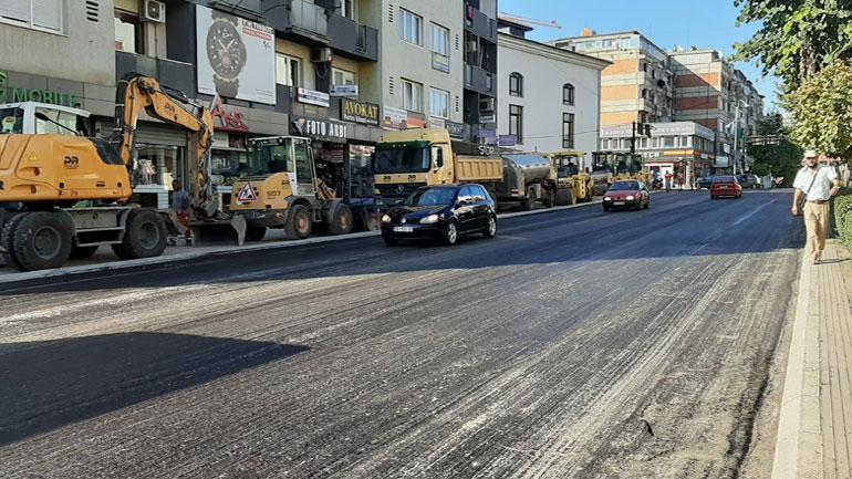 Të dielën asfaltohet qendra e Gjilanit