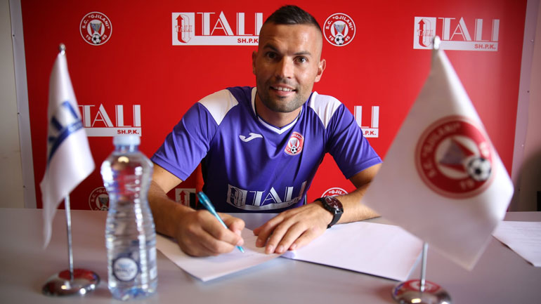 Gjilani përforcohet me lojtarin kroat Ivan Fustar