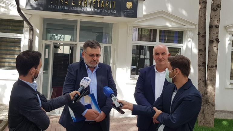 Kryetari Haliti dhe Ministri Kuqi biseduan rreth sigurimit të ujit të pijshëm dhe trajtimit të ujërave të zeza