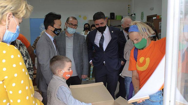 Në Gjilan inaugurohet Qendra Burimore për fëmijët e moshës 3-4 vjeçare