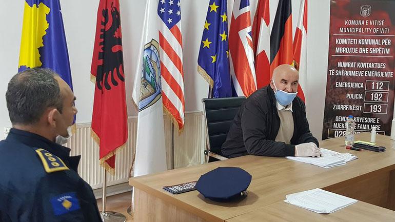 Kryetari i Vitisë uron Policinë në përvjetorin e 21-të të themelimit të saj