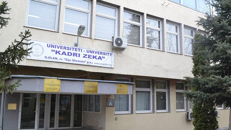 """Akreditohen programet e Universitetit """"Kadri Zeka"""" në Gjilan"""