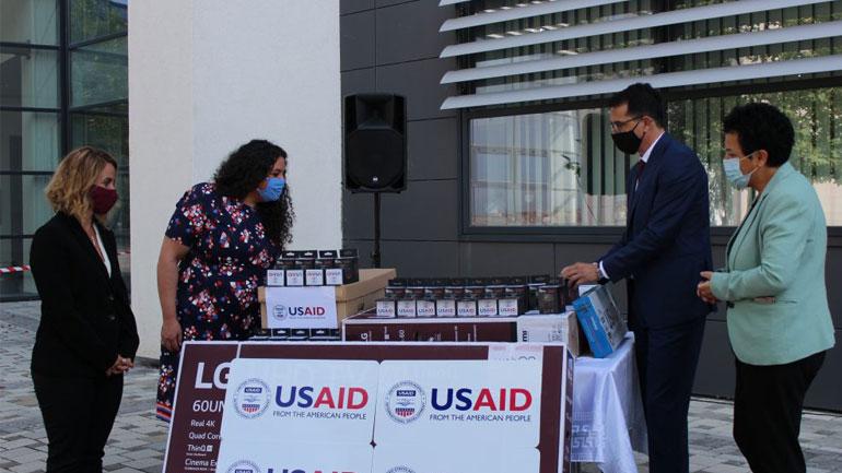 USAID dhuron donacion për gjykatat e Kosovës