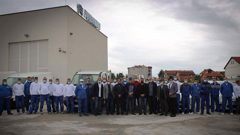 Haziri vlerëson lartë arritjet e kompanisë Fundamenti që ka mbi 40 punëtorë