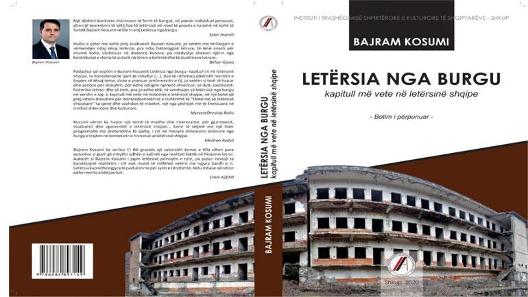 """Doli nga shtypi libri """"Letërsia nga burgu"""" i Bajram Kosumit"""