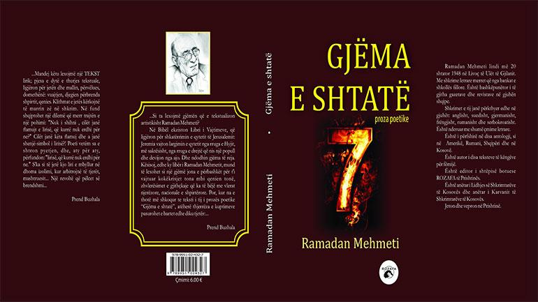 """Proza poetike """"Gjëma e shtatë"""", libri i radhës i Ramadan Mehmetit"""