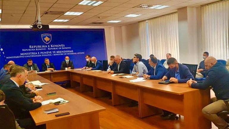 Zëvendësministri Zafir Berisha takoi Këshillin Shtetëror për Siguri Kibernetike