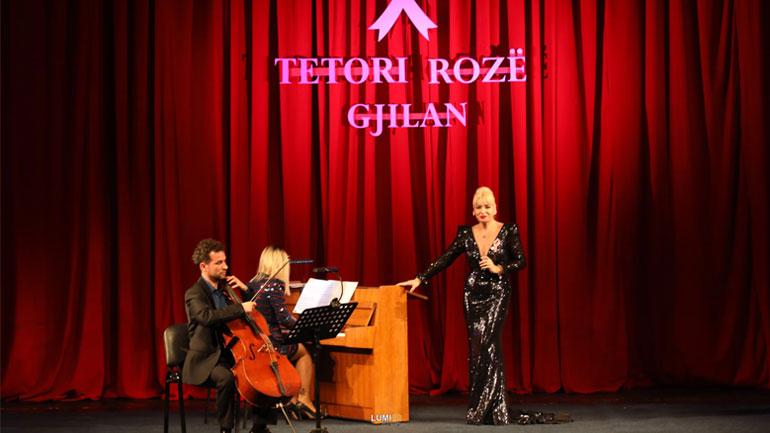 """Në Gjilan mbahet koncerti """"Ti nuk je vetëm"""", si ndërgjegjësim për zbulimin e hershëm të kancerit të gjirit"""