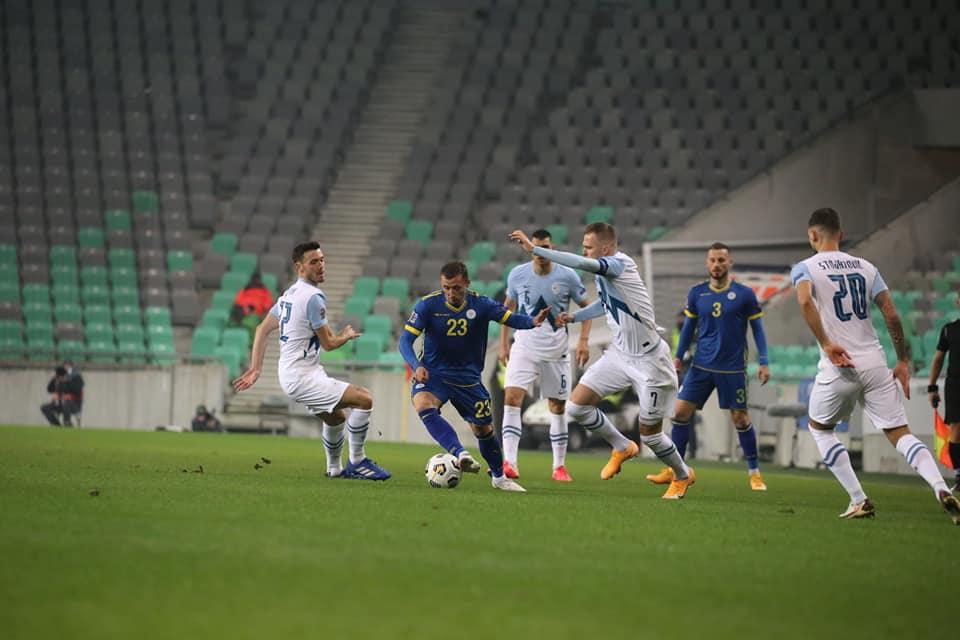 Kosova e pa fat, Sllovenia fiton në fund të ndeshjes