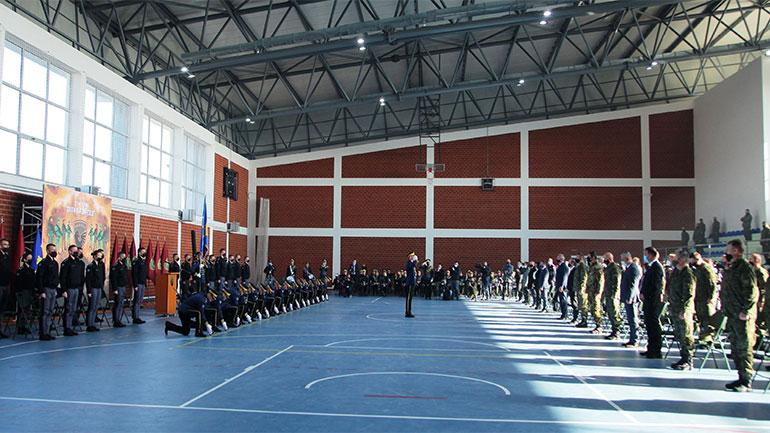 Me ceremoni ushtarake shënohet- 27 Nëntori – Dita e Forcës