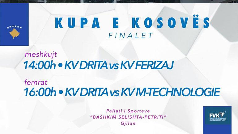 Finalet e Kupës zhvillohen në Gjilan, KV Drita pretendente në të dy kategoritë