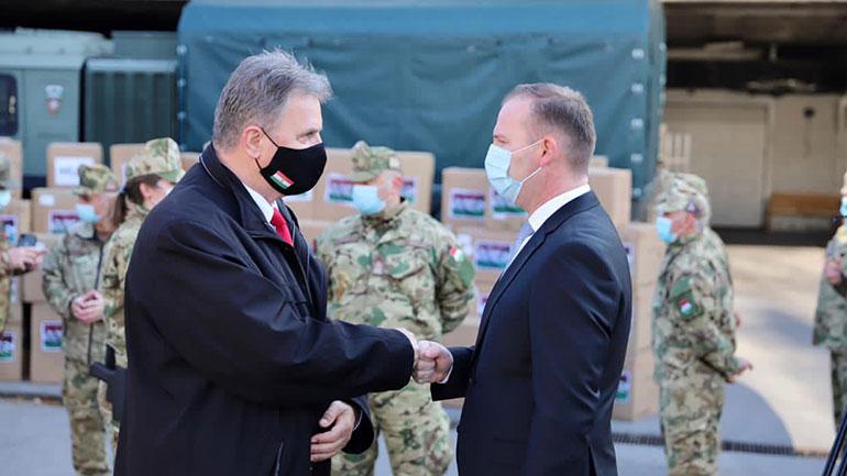 Zemaj: Kosova pranon ndihmat nga shteti mik në luftën kundër Covid-19