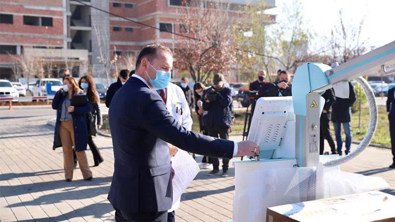 Rentgen digjital mobil për QKUK-në dhe Spitalin e Gjilanit dhe të Prizrenit
