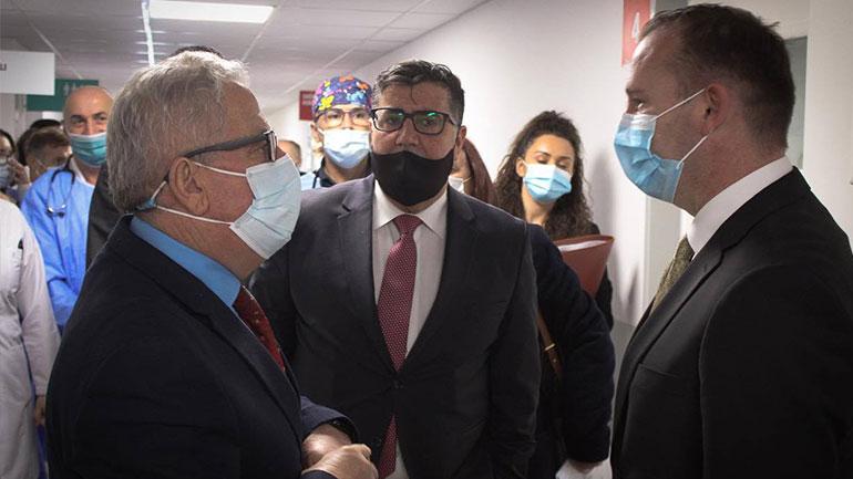 Haziri e Zemaj konfirmojnë se shumë shpejt Qendra Rajonale e Gjilanit do ta ketë laboratorin për teste PCR