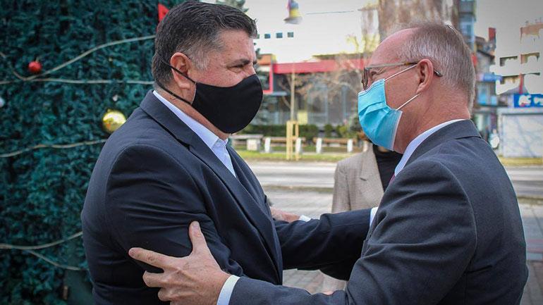 Haziri pret në takim lamtumirës ambasadorin e OSBE'së, Jan Braathu