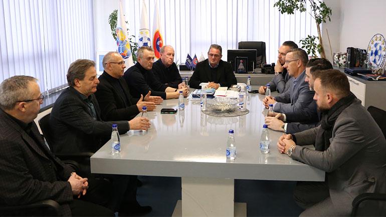 Krerët e FFK-së pritën delegacionin e Unionit të Bizneseve Shqiptare-Gjermane