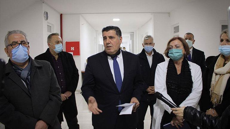 Stafi i Qendrës së Shëndetit Publik në Gjilan po trajnohet për përdorimin e aparatit për teste serologjike dhe me metodën RT-PCR
