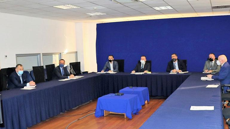 U mbajt takimi i radhës së Bordit Ekzekutiv për Menaxhimin e Integruar të Kufirit
